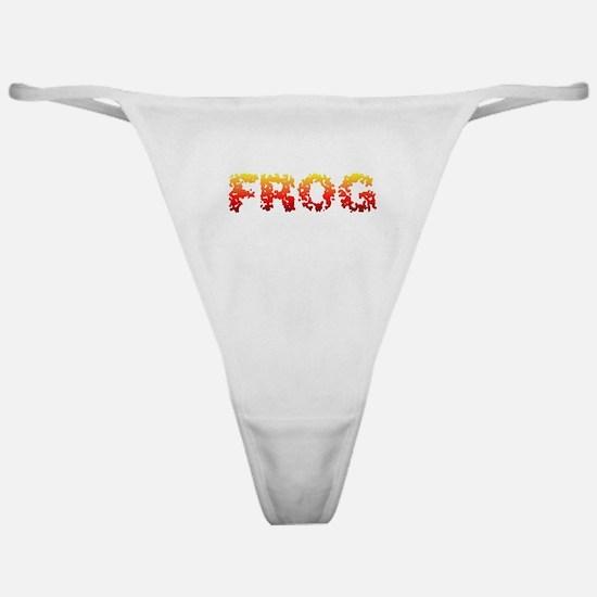 FROG sponge Classic Thong