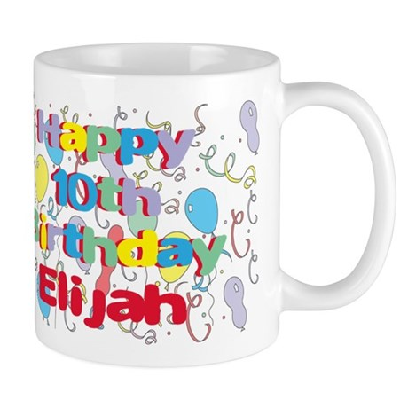 Elijah's 10th Birthday Mug