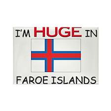 I'd HUGE In FAROE ISLANDS Rectangle Magnet