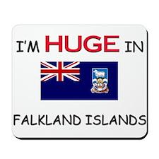I'd HUGE In FALKLAND ISLANDS Mousepad