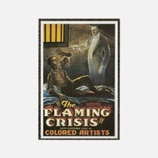 flamming crisis Rectangle Magnet