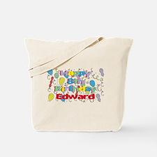 Edward's 8th Birthday Tote Bag