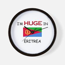 I'd HUGE In ERITREA Wall Clock
