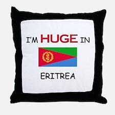 I'd HUGE In ERITREA Throw Pillow