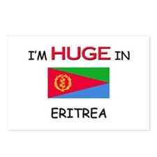 I'd HUGE In ERITREA Postcards (Package of 8)