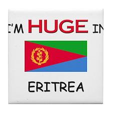 I'd HUGE In ERITREA Tile Coaster