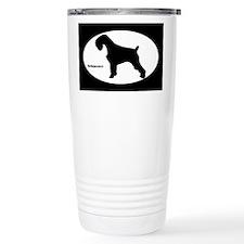 Schnauzer Silhouette Travel Coffee Mug