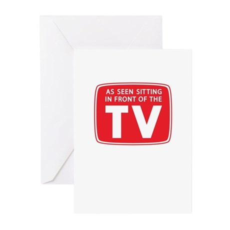 As Seen on TV. . . Greeting Cards (Pk of 10)