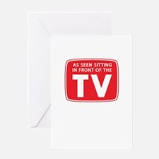 As Seen on TV. . . Greeting Card
