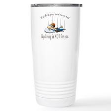 Skydiving Travel Coffee Mug