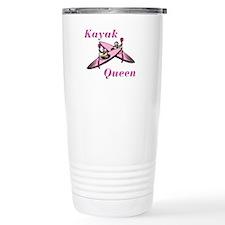 Kayak Queen Travel Coffee Mug