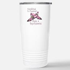 Kyaking is Cheaper Travel Mug