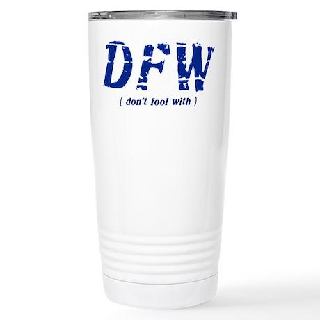 DFW Stainless Steel Travel Mug