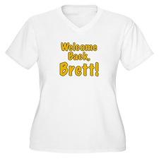Welcome Back Brett T-Shirt