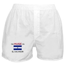 I'd HUGE In EL SALVADOR Boxer Shorts