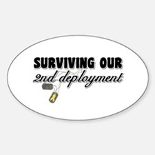 Surviving 2nd Deployment Oval Decal