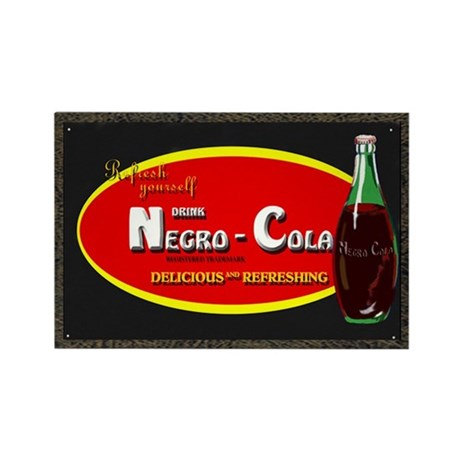 negro cola Rectangle Magnet (10 pack)