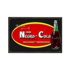 negro cola Rectangle Magnet