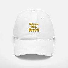 Welcome Back Brett Baseball Baseball Cap