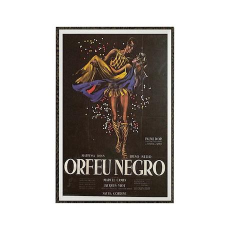 orfeu negro Rectangle Magnet (10 pack)