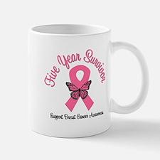 Breast Cancer (5 Yrs) Mug