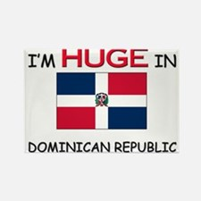 I'd HUGE In DOMINICAN REPUBLIC Rectangle Magnet