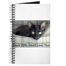 Love Black Cats Journal