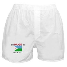 I'd HUGE In DJIBOUTI Boxer Shorts