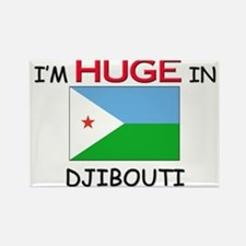 I'd HUGE In DJIBOUTI Rectangle Magnet