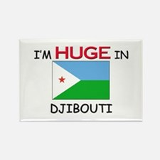 I'd HUGE In DJIBOUTI Rectangle Magnet (10 pack)