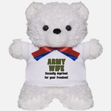 Army Wife - deprived Teddy Bear