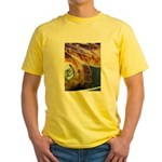 On Fire Yellow T-Shirt