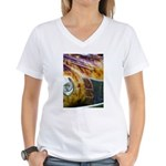 On Fire Women's V-Neck T-Shirt