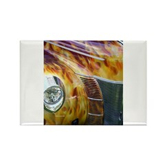 On Fire Rectangle Magnet (10 pack)
