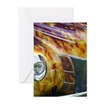 On Fire Greeting Cards (Pk of 10)