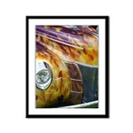 On Fire Framed Panel Print