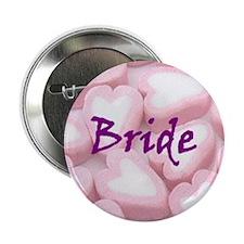 Bride Candy Heart Button