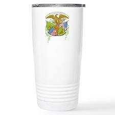 Ireland American Flags Travel Coffee Mug