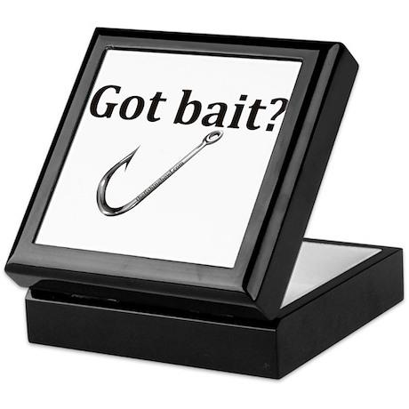 Got bait? Keepsake Box