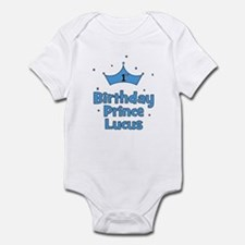 1st Birthday Prince Lucus! Infant Bodysuit