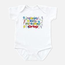 Greg's 10th Birthday Infant Bodysuit