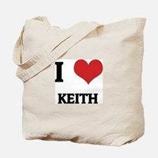 I Love Keith Tote Bag