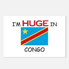I'd HUGE In CONGO Postcards (Package of 8)