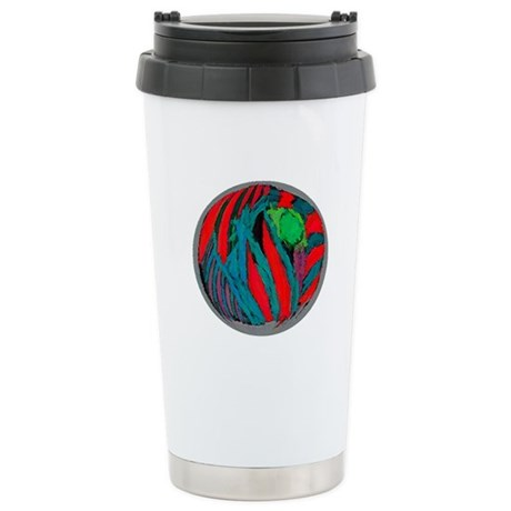 Global Warming Art Stainless Steel Travel Mug