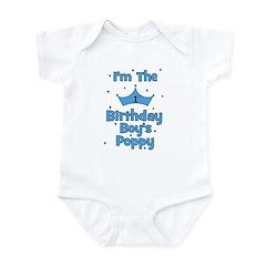 1st Birthday Boy's Poppy! Infant Bodysuit