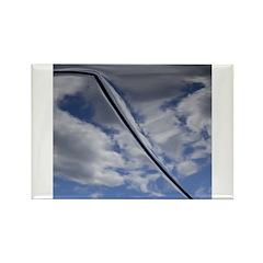 Blue Skies Rectangle Magnet