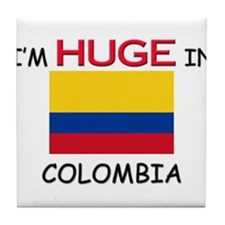 I'd HUGE In COLOMBIA Tile Coaster