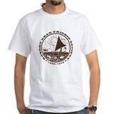 South pacific Mens Classic White T-Shirts