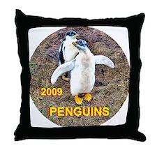 PENGUINS 2009 - Throw Pillow