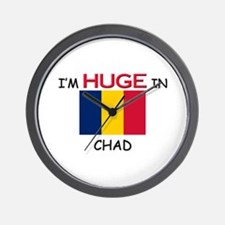 I'd HUGE In CHAD Wall Clock